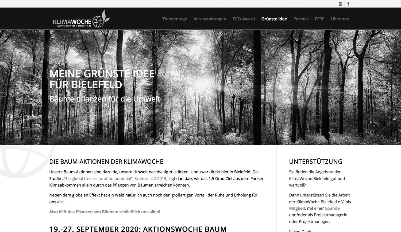 KlimaWoche Bielefeld – mein ehrenamtliches Projekt